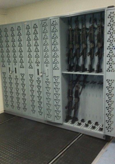 M249 Weapon Rack - Light Machine Gun Storage