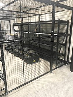 Combat Weapon Storage Systems - Weapon Cages