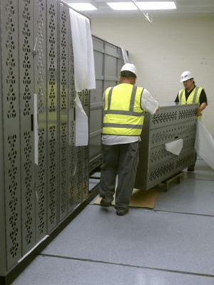 Combat Weapon Storage Services - Installation
