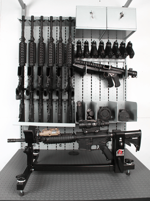 Combat Weapon Storage - Tactical Weapon Vise - Gun Vise - Gun Vises