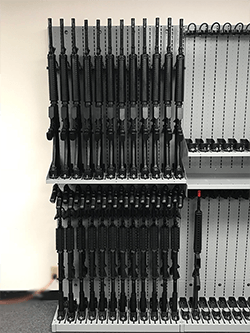 Combat Weapon Storage Systems - Weapon Shelving