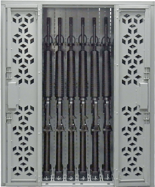 "44"" H Weapon Rack - M16"