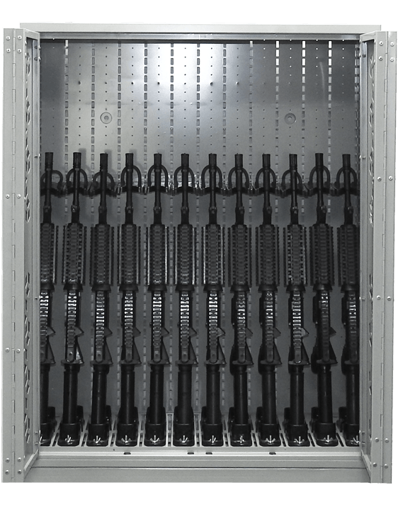 "44"" H Weapon Rack - M4"