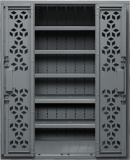 "44"" H Combat Weapon Rack - Shelves"