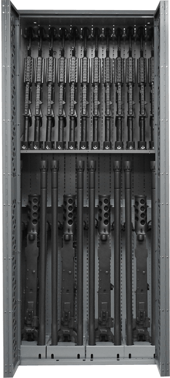Combat Weapon Rack - 85 - Inch - M2