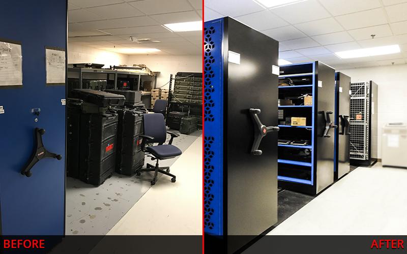 Weapon Storage – Before And After - Gun Storage Repurposing