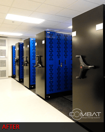 Combat Weapon Storage Mobile Weapon Rack System