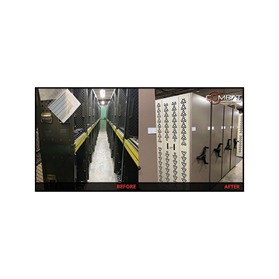 Weapon Storage – Before And After - Mobile Weapon Storage Systems