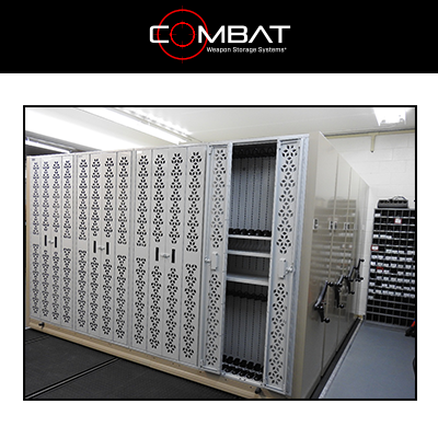 Combat Mobile Weapon Storage System - Reverse Bi Folding Doors