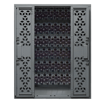Combat Stackable Weapon Racks - NSN Stackable Pistol Cabinet