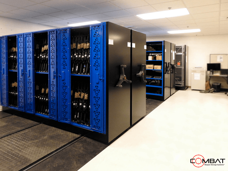 Military Weapon Storage for Armories