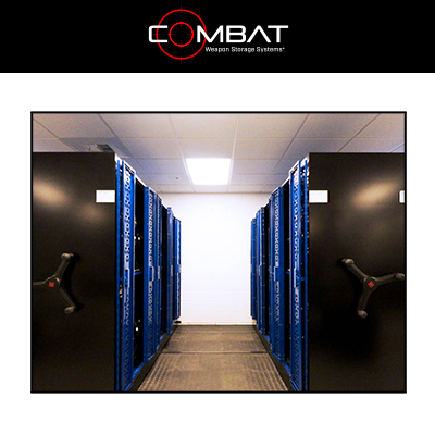 Combat Weapon Storage System Superior Bi-Fold Doors