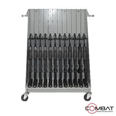 Weapon Storage Cart for NVG Storage and MILCON Armories