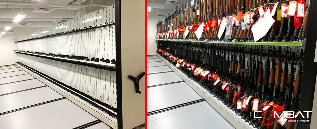 High Capacity Armory Storage - Armory Weapon Design