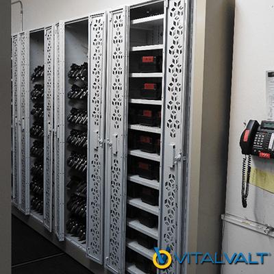Law Enforcement Weapon Storage - Taser & Radio Storage