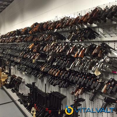 Law Enforcement Weapon Storage - Police Storage