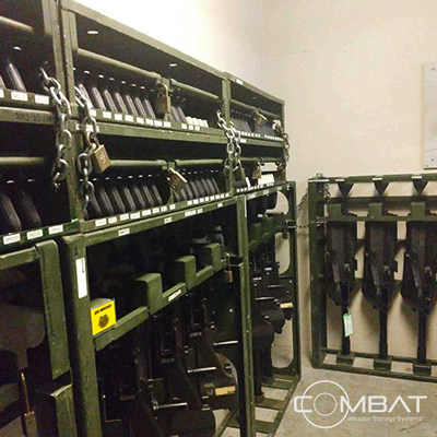Weapon Rack 500 lb. Requirement