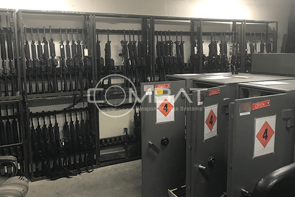 M12 Small Arms Rack M4
