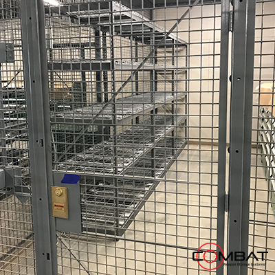 Weapon Cages - Steel Armory Cages