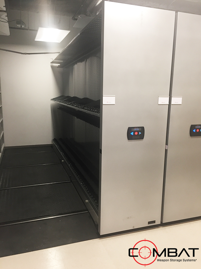Electric Weapon Storage Systems - Automated Weapon Storage