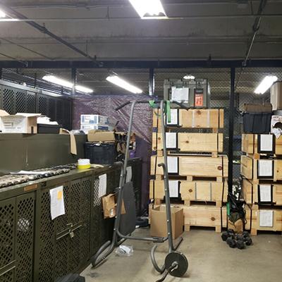 Marine Corps Weapon Storage - Replacing Bad Weapon Racks
