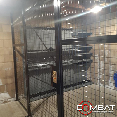 Weapon Shelving Cage - Gun Cage