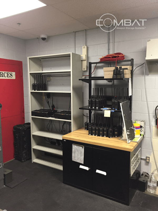 Secure Armory Storage - Weapon Tracking - Armory Communications