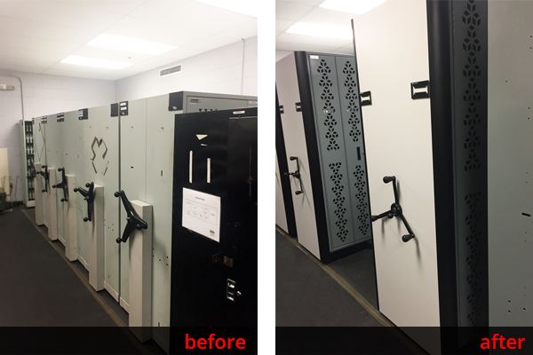 Weapon Storage – Before And After - Replacing Dasco Weapon Racks