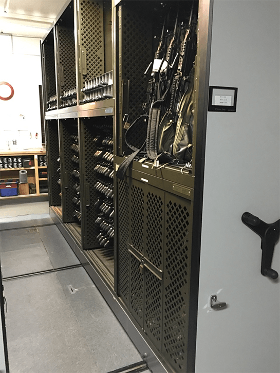 Replacing Legacy Space Saver Weapon Racks