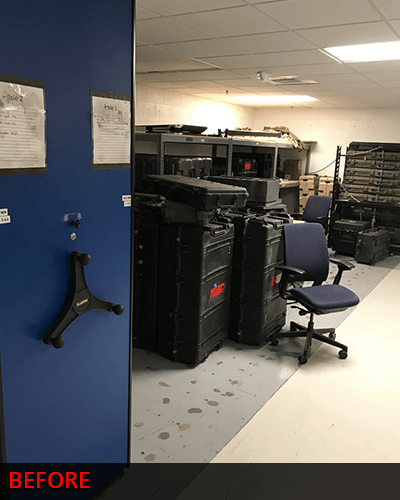 Replacing SecureIt Weapon Rack System
