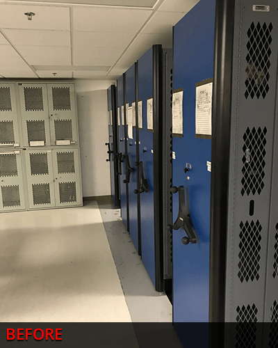 Replacing Secureit Weapon Racks
