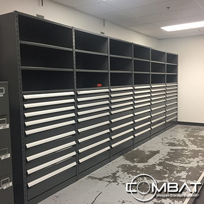 Police Armory Shelving System