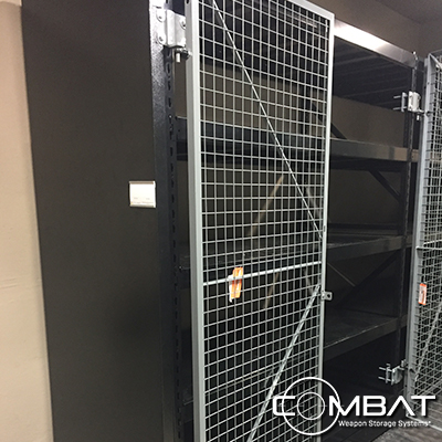 Secure Military Shelving - Secure Law Enforcement Shelving