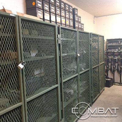 Secure Weapon Case Storage - Weapon Storage Systems