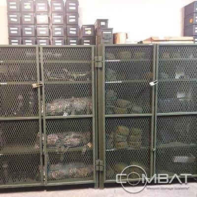 Gun Case Storage - Handgun Case Storage