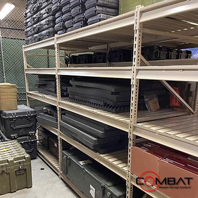 Weapon Rack Ammo Storage - Ammunition Shelving Racks