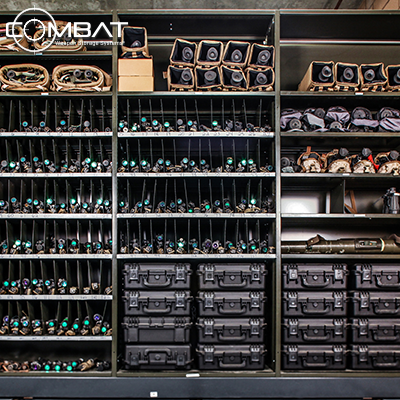 Pelican Case Storage Shelving - Weapon Storage Shelving Systems